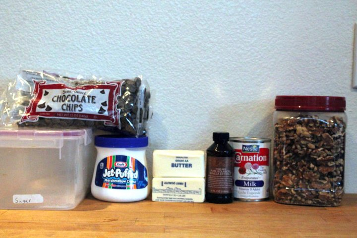 chocolate-fudge-ingredients