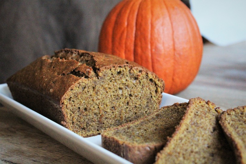 pumpkin bread main