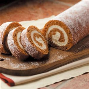 taste of home pumpkin roll